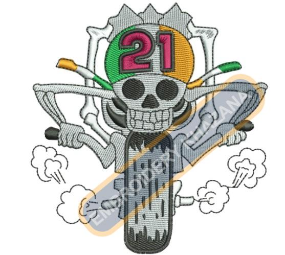 ireland Biker embroidery designs